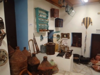Old articles taken from a local mansion in the Exhibition of Traditional Occupations in Ano Syros