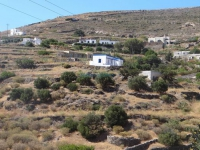 The small settlement Finikia in north Syros