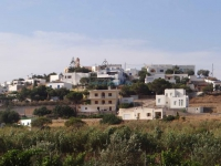 Vari village, on the south part of Syros