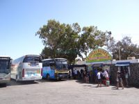 Central Bus station at Fira