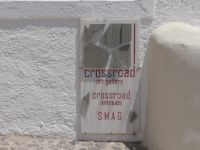 Cyclades - Santorini - Pirgos - Cross Road Art Gallery
