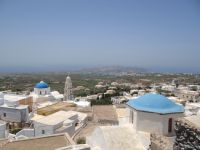Cyclades - Santorini - Pyrgos - View from the Castle