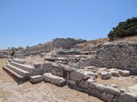 Cyclades - Santorini - Ancient Thira - Exedrae