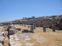 Cyclades - Santorini - Ancient Thira - Basilike Stoa