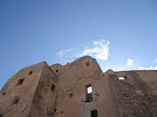 Eg Castle Of Emporio Castle Kiklades Thira