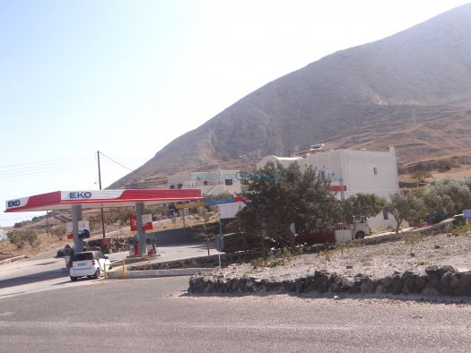 EKO Gas station at Episkopi