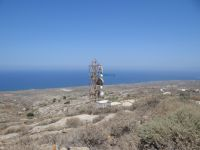 Cyclades - Therasia - Antennas