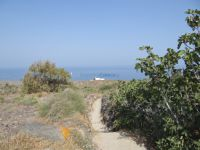 Cyclades - Therasia - Path to Saint Irene Chrissovalantou